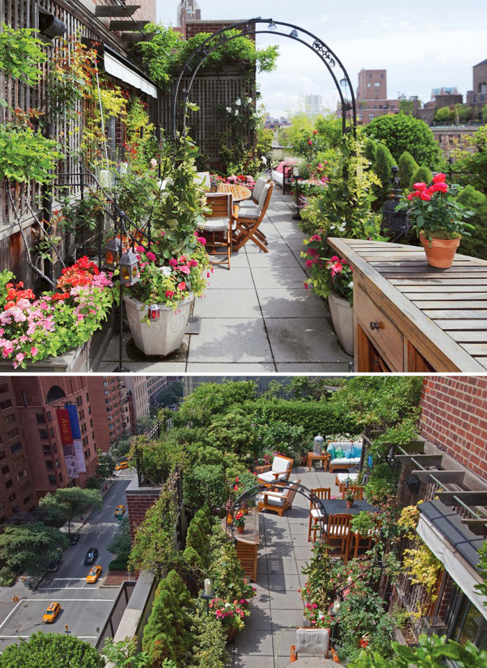 Apartment balcony terraces: inspiring decor ideas for small ...
