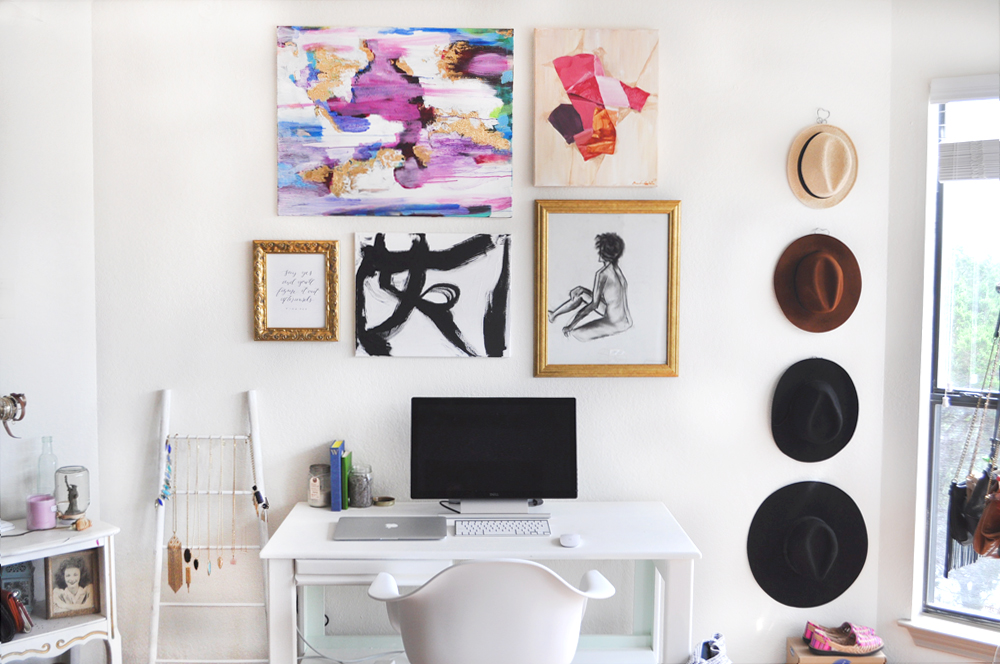 Simple minimal office space that glows the tao of dana Home decorating blogs