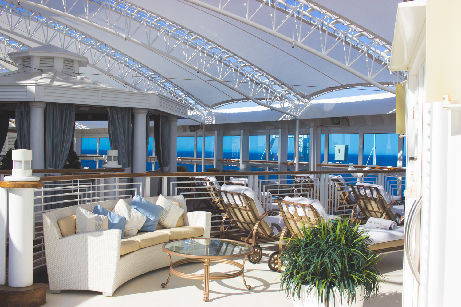 livvyland-blog-olivia-watson-princess-cruise-cabin-balcony-mediterranean-coast-royal-princess-ship-sanctuary-deck-luxury