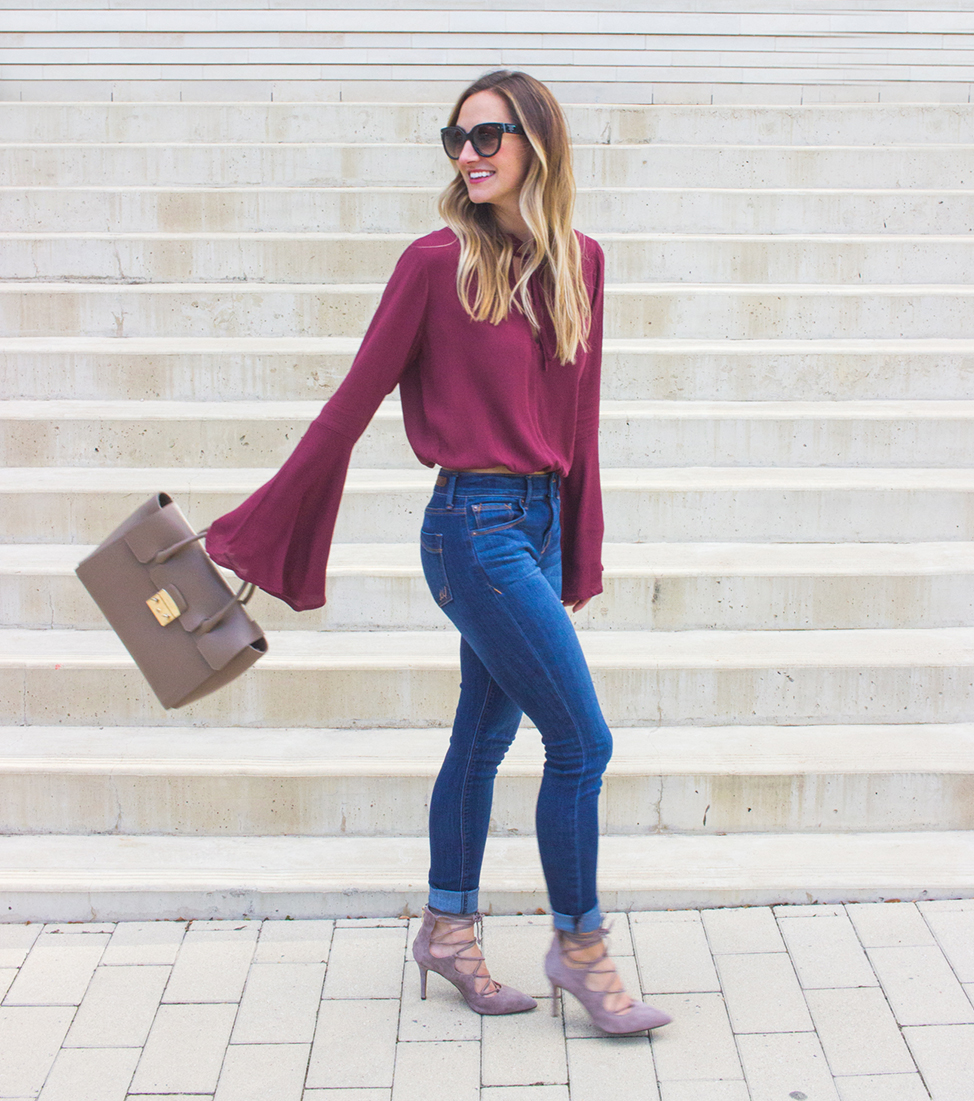 livvyland-blog-olivia-watson-fall-outfit-lace-up-heels-bell-sleeve-oxblood-top-austin-texas-fashion-blogger-3