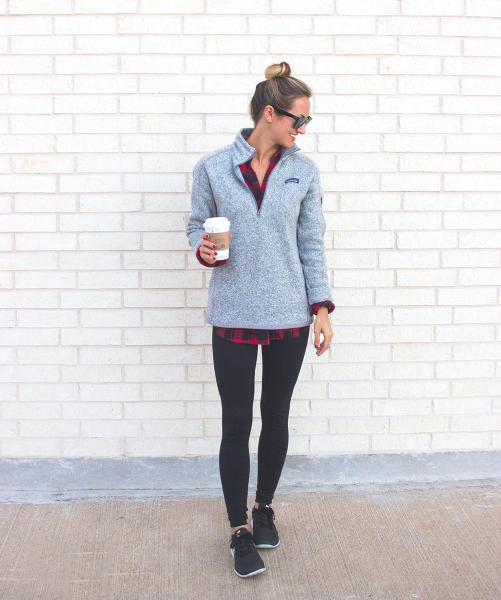 wonderful outfits with fleece leggings 8