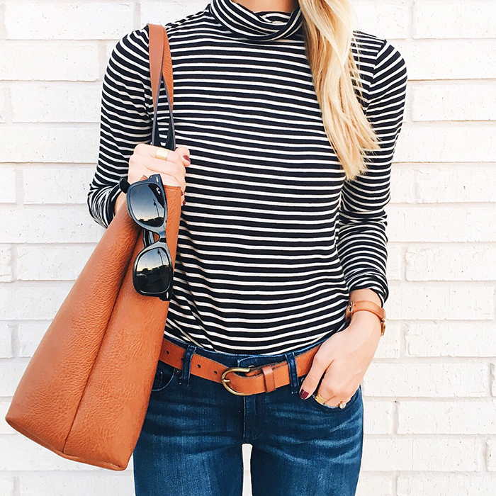livvyland-blog-olivia-watson-austin-texas-fashion-blogger-fall-outfit-style-j-crew-striped-turtle-neck-black-tan-outfit