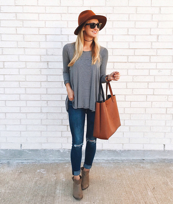 livvyland-blog-olivia-watson-austin-texas-fashion-blogger-fall-outfit-style-striped-swing-tee-bohoemian-outfit