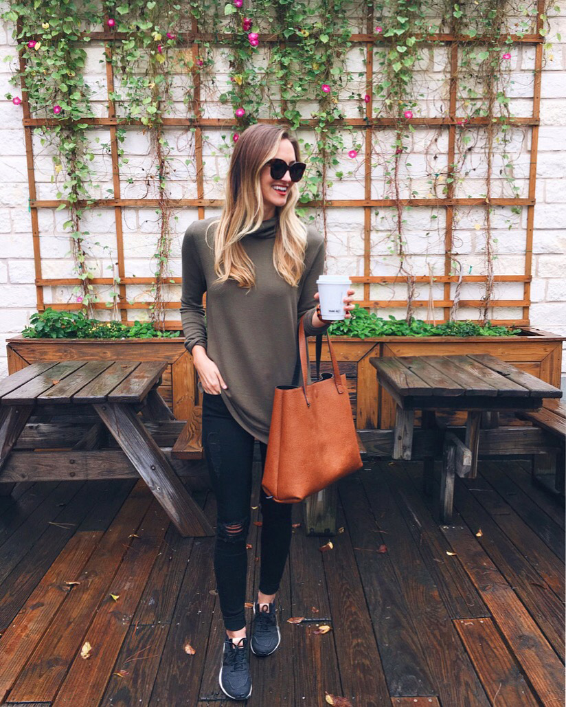 livvyland-blog-olivia-watson-black-friday-sales-instagram-roundup-mozarts-coffee-house-olive-turtle-neck-sweater-sneakers-jeans-athleisure