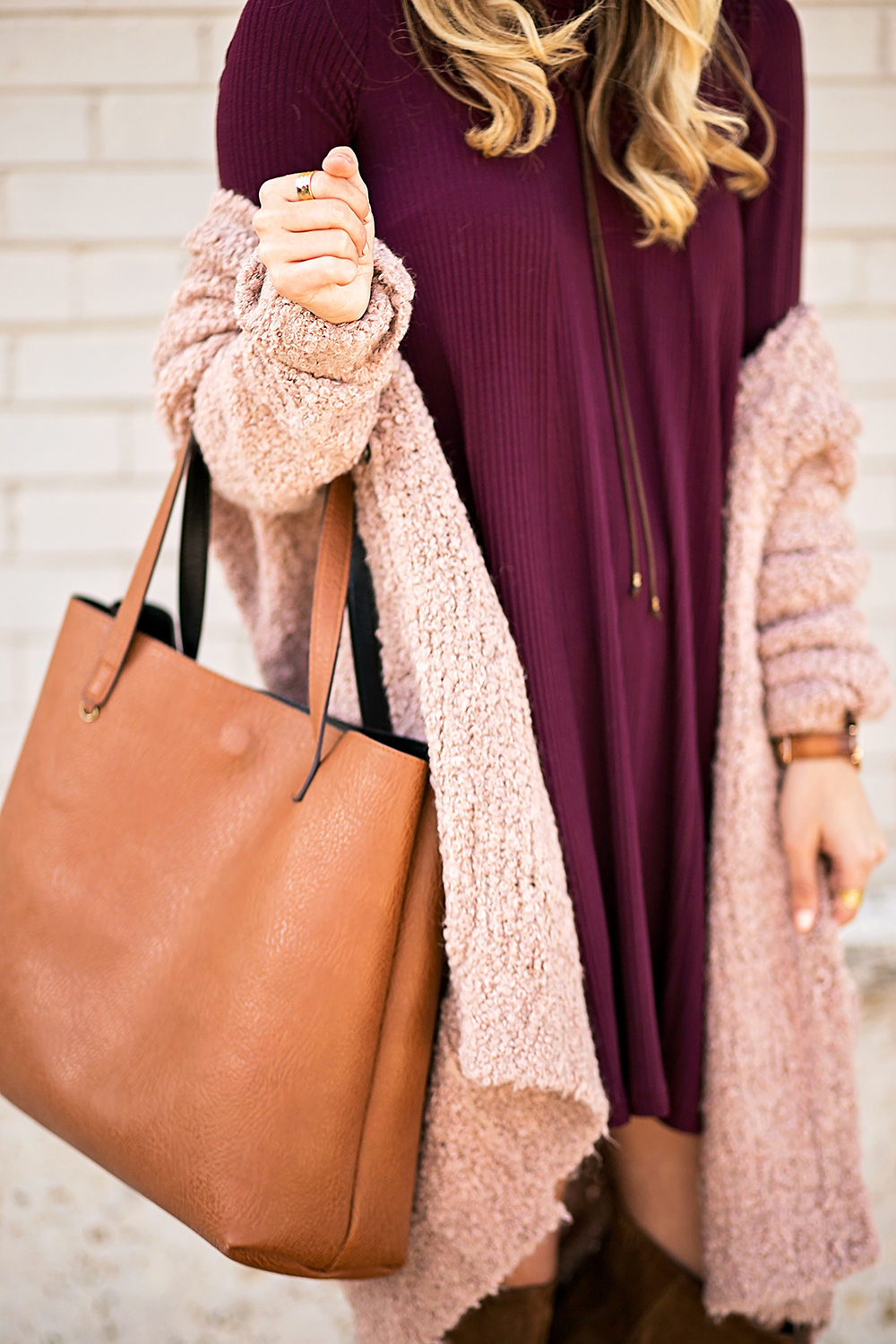 livvyland-blog-olivia-watson-cozy-fall-layers-dress-otk-boots-chunky-knit-cardigan-blush-pink-boho-outfit-6