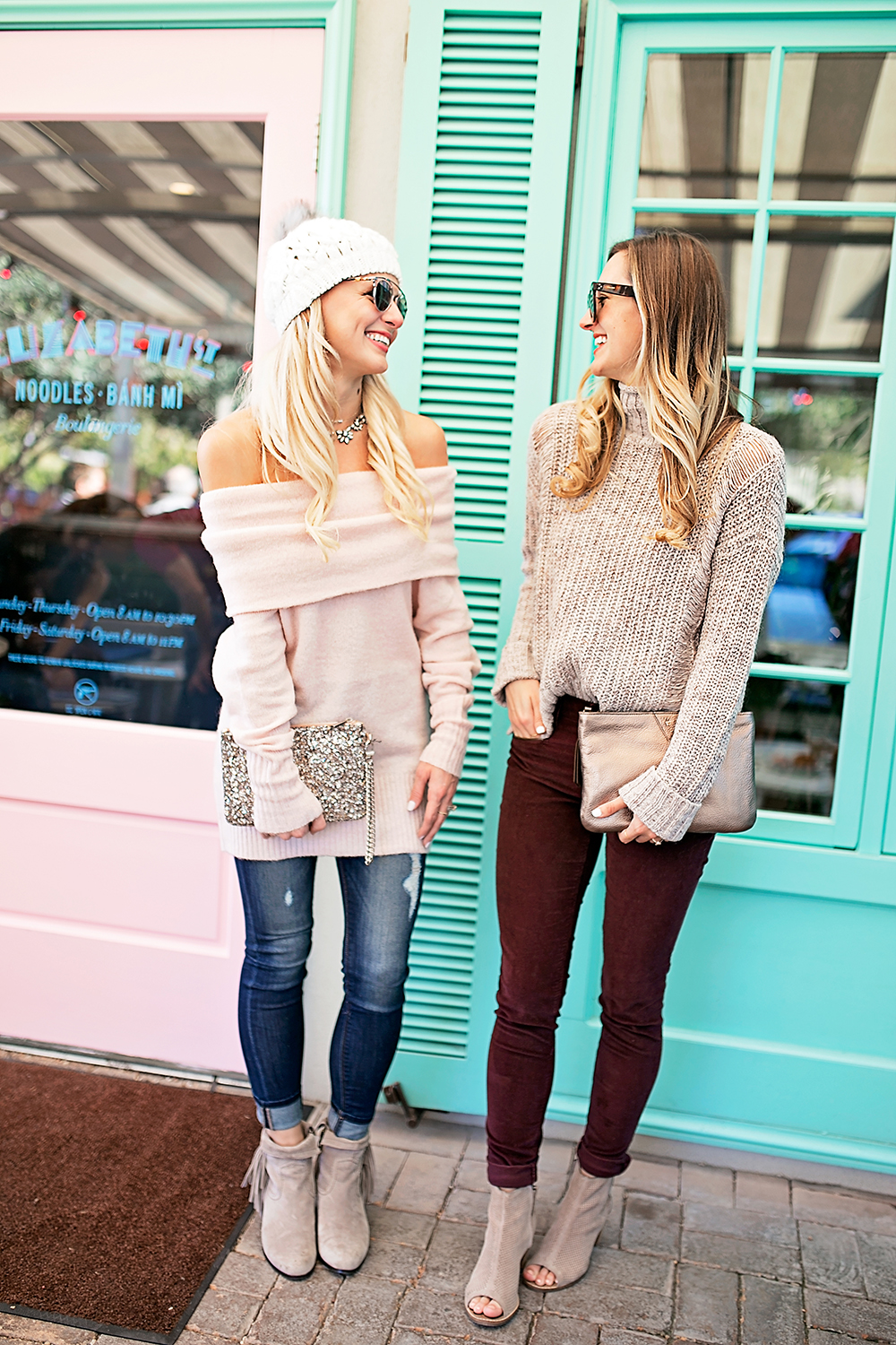livvyland-blog-olivia-watson-express-cyber-monday-sweater-sale-lauren-vandiver-vandi-fair-cozy-outfit-friend-date-elizabeth-street-cafe-6