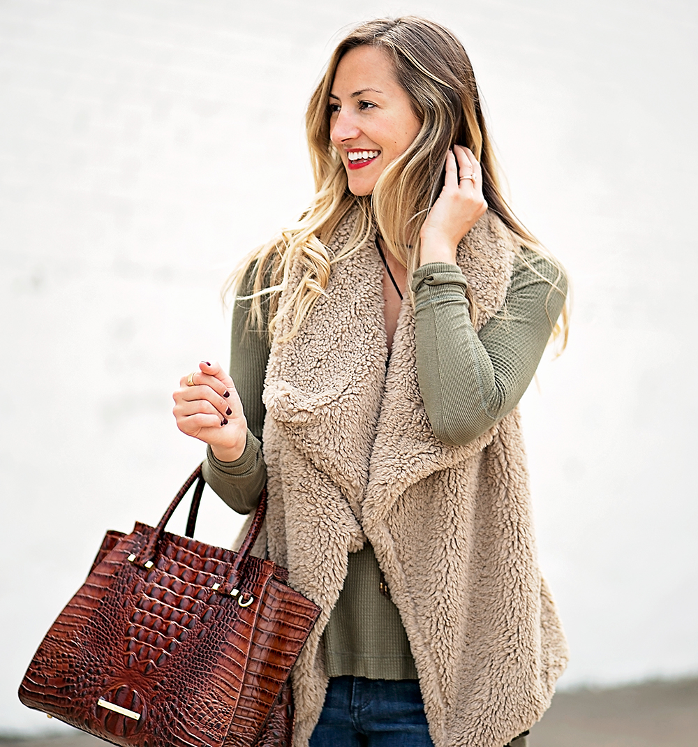 livvyland-blog-olivia-watson-fall-outfit-bb-dakota-sheerling-vest-cozy-fall-outfit-inspiration-ankle-booties-free-people-thermal-top-2