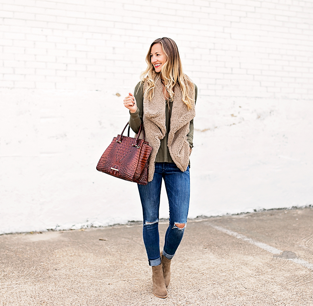 livvyland-blog-olivia-watson-fall-outfit-bb-dakota-sheerling-vest-cozy-fall-outfit-inspiration-ankle-booties-free-people-thermal-top-3