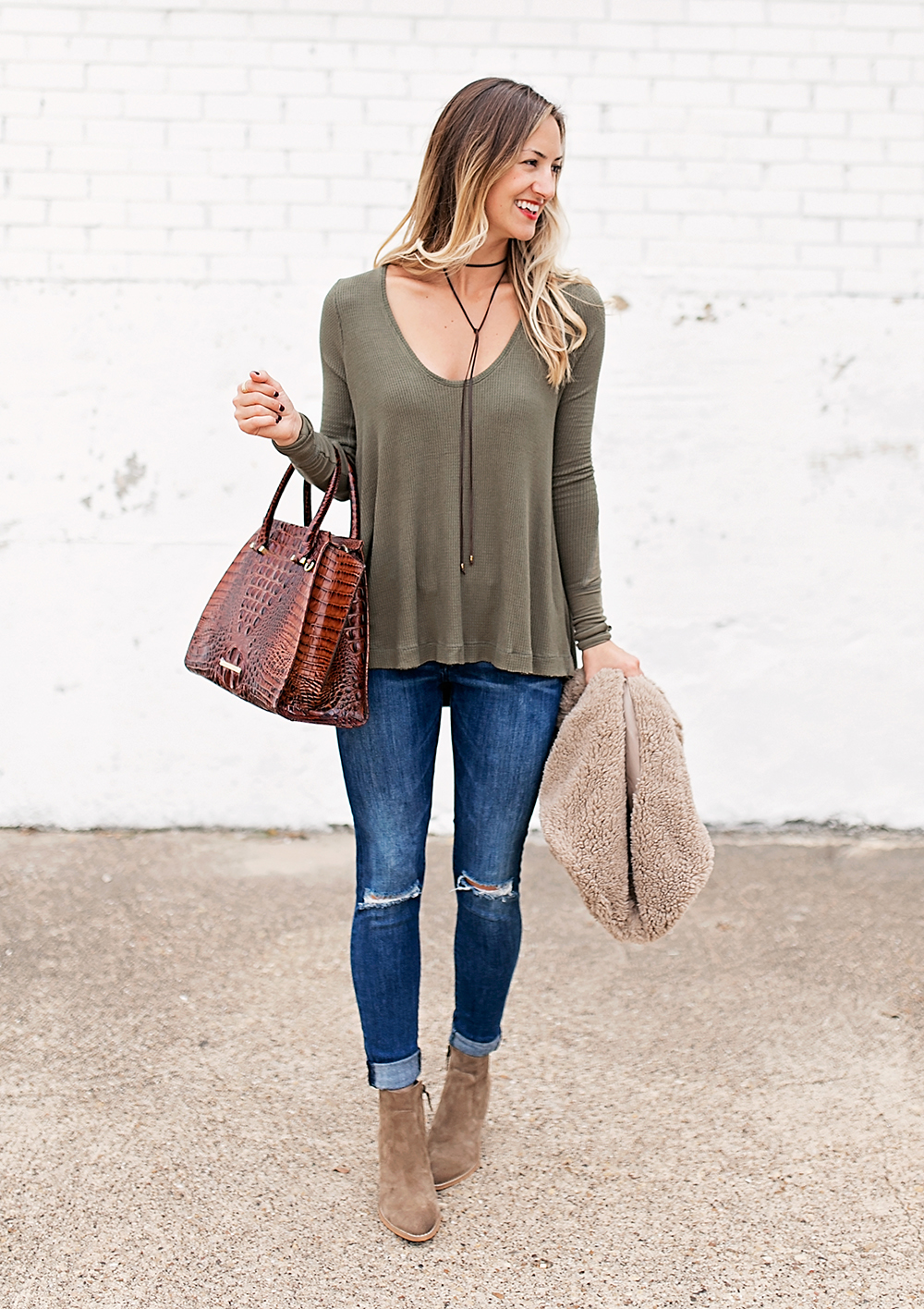 livvyland-blog-olivia-watson-fall-outfit-bb-dakota-sheerling-vest-cozy-fall-outfit-inspiration-ankle-booties-free-people-thermal-top-5