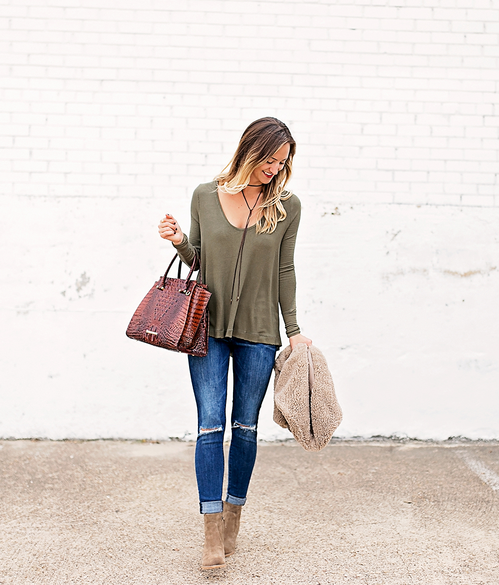 livvyland-blog-olivia-watson-fall-outfit-bb-dakota-sheerling-vest-cozy-fall-outfit-inspiration-ankle-booties-free-people-thermal-top-8