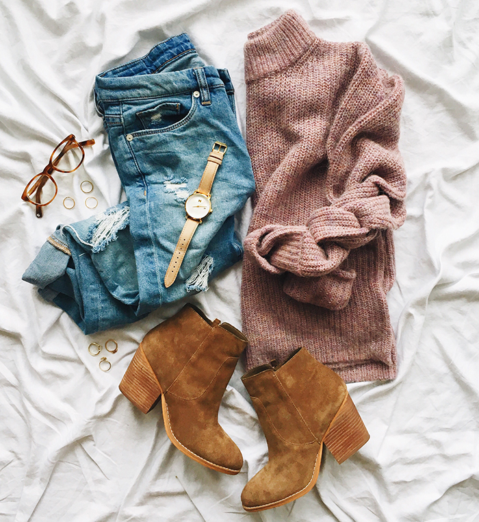 livvyland-blog-olivia-watson-fashion-blogger-austin-texas-fall-cozy-blush-cardigan-layers-outfit-idea-2