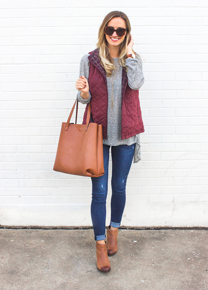 livvyland-blog-olivia-watson-supplies-by-union-bay-burgundy-puffer-vest-cozy-fall-outfit-idea-1