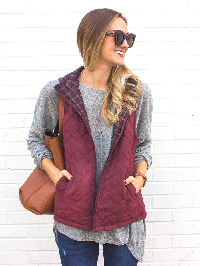 livvyland-blog-olivia-watson-supplies-by-union-bay-burgundy-puffer-vest-cozy-fall-outfit-idea-2