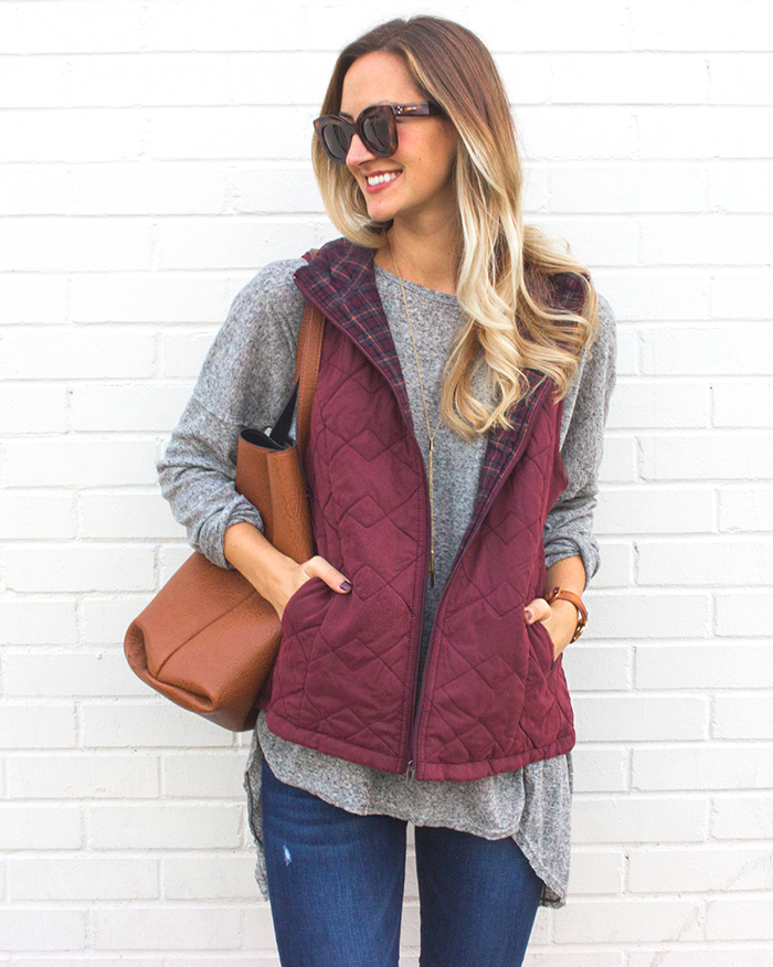 livvyland-blog-olivia-watson-supplies-by-union-bay-burgundy-puffer-vest-cozy-fall-outfit-idea-5