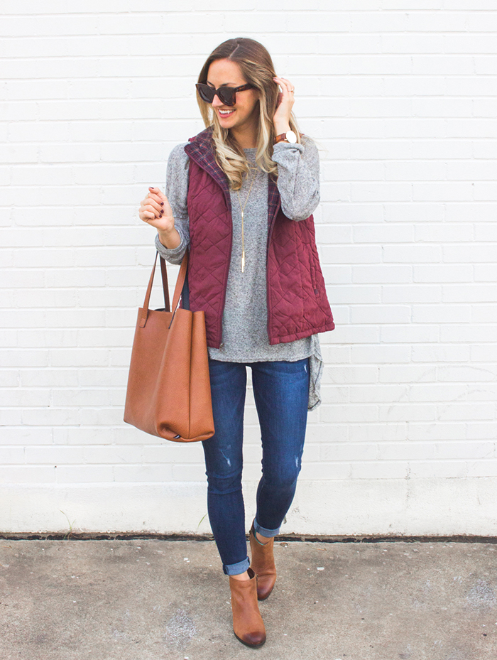 livvyland-blog-olivia-watson-supplies-by-union-bay-burgundy-puffer-vest-cozy-fall-outfit-idea-7
