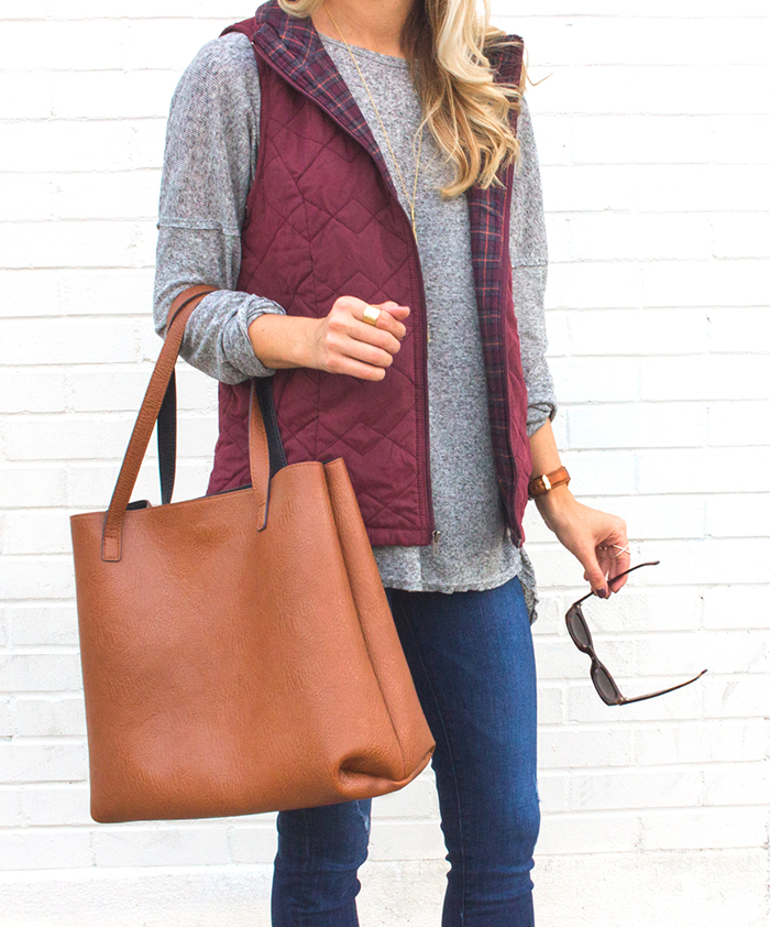 livvyland-blog-olivia-watson-supplies-by-union-bay-burgundy-puffer-vest-cozy-fall-outfit-idea-8