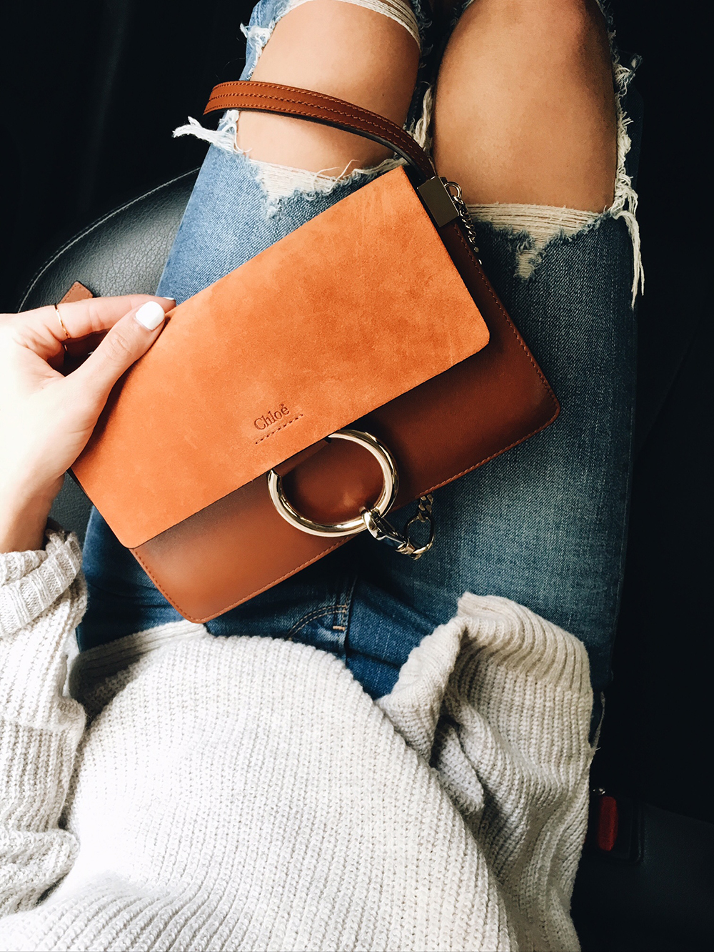 livvyland-blog-olivia-watson-instagram-roundup-december-cozy-chloe-faye-handbag-austin-texas-fashion-blogger-tan-mini-sweater-levi-jeans