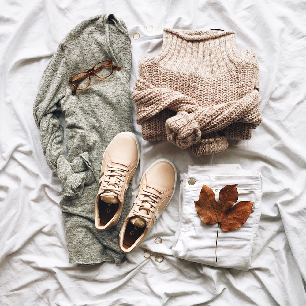 livvyland-blog-olivia-watson-instagram-roundup-december-cozy-layers-blush-sneakers-fall-grey-pink-color