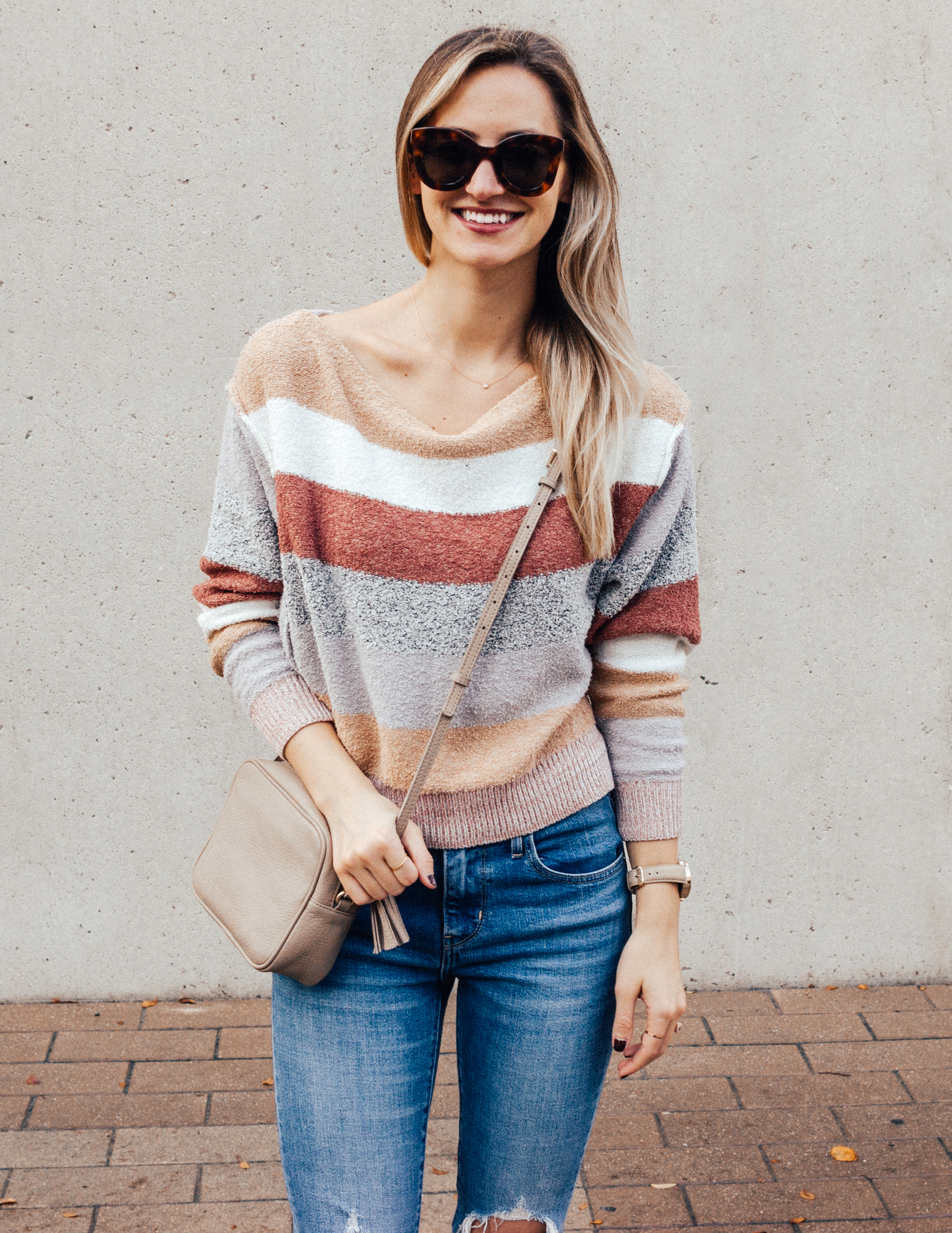livvyland-blog-olivia-watson-free-people-blush-beige-tan-sweater-tassel-slides-cozy-layers-2