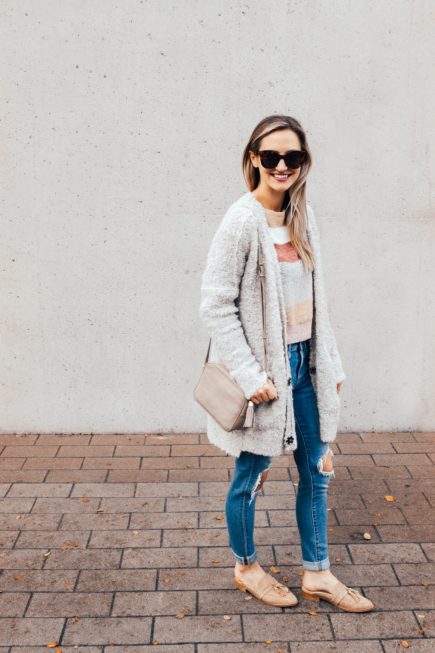 livvyland-blog-olivia-watson-free-people-blush-beige-tan-sweater-tassel-slides-cozy-layers-4-2