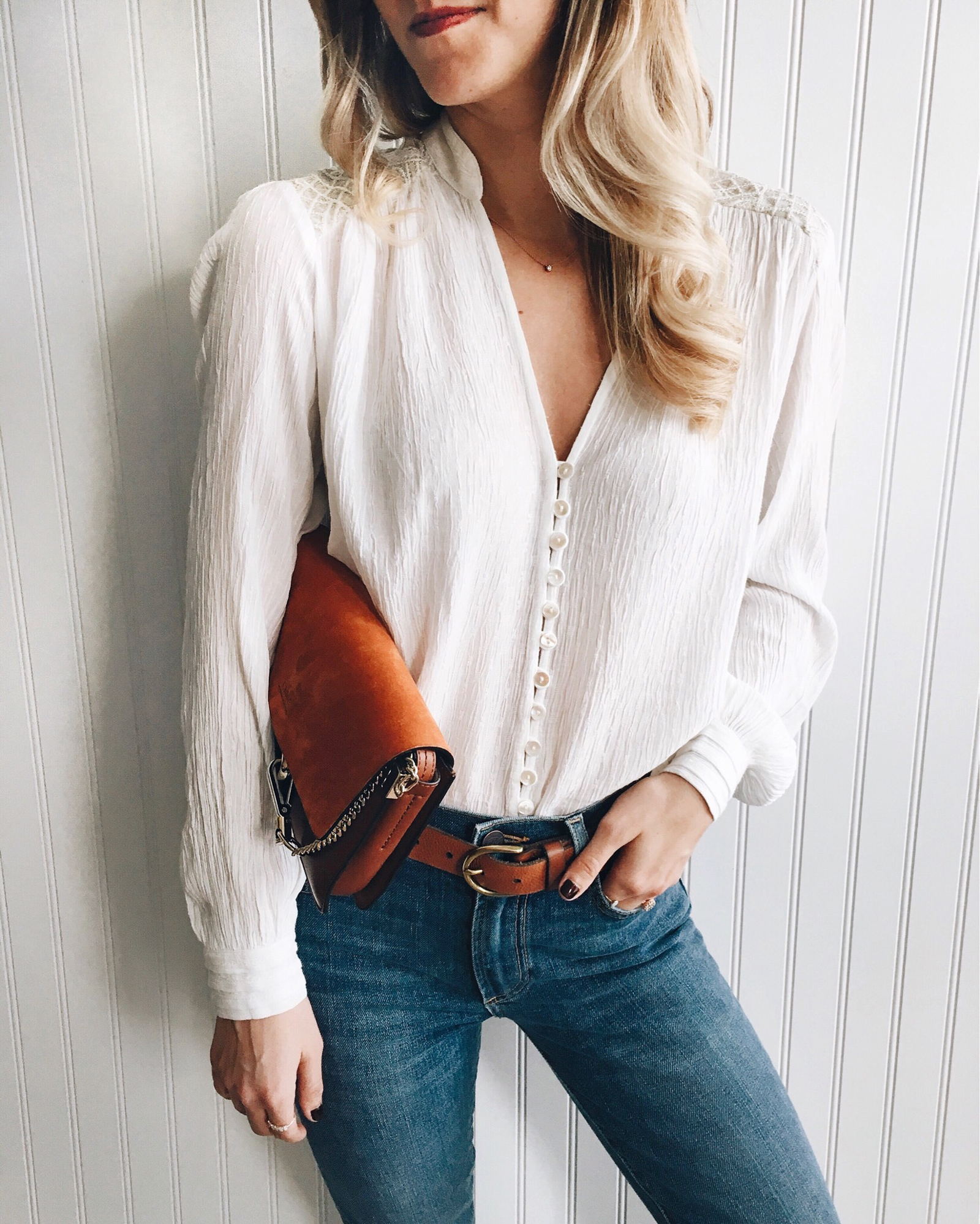 livvyland-blog-olivia-watson-instagram-roundup-austin-texas-cozy-winter-outfit-chic-white-blouse