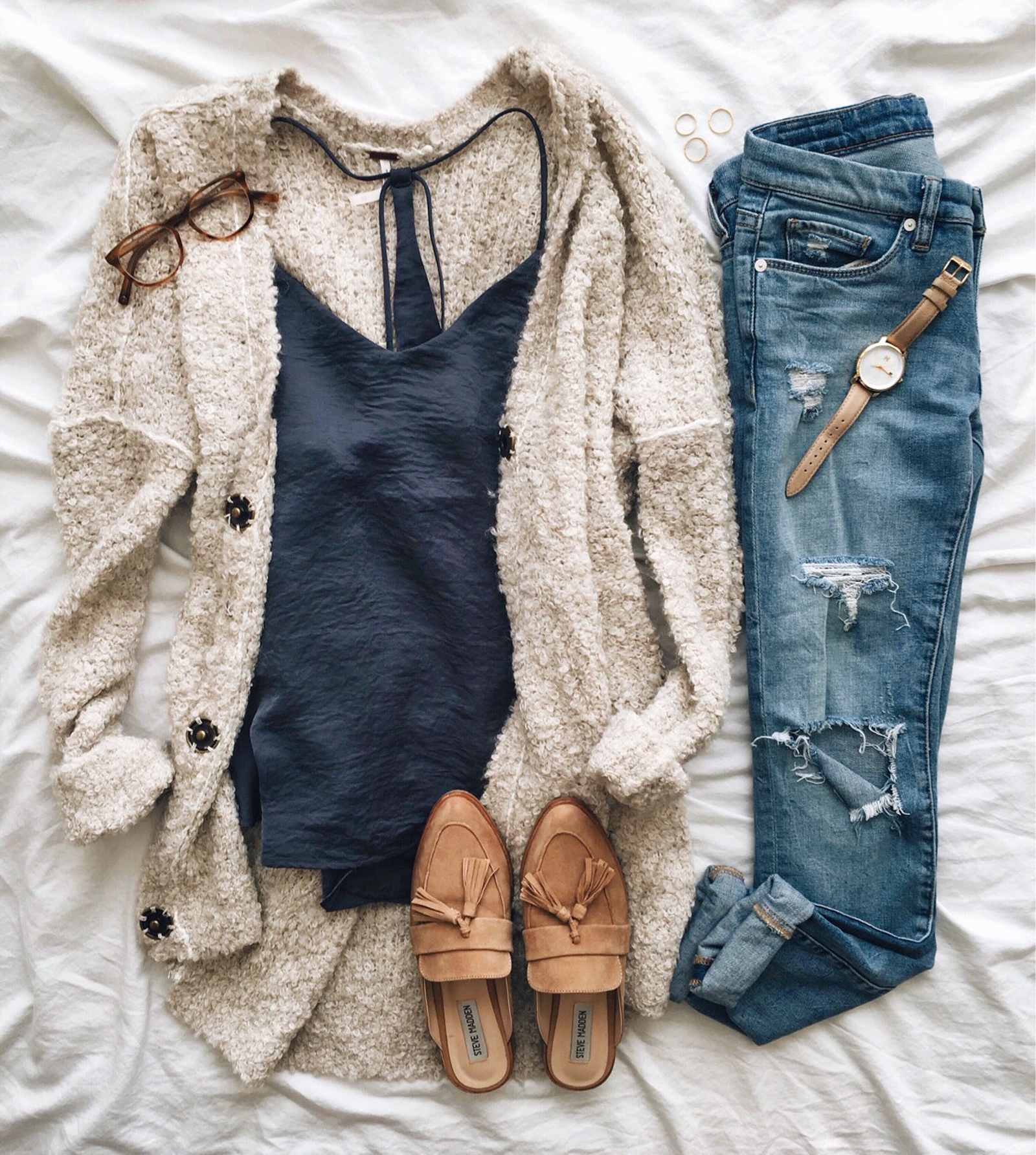 livvyland-blog-olivia-watson-instagram-roundup-austin-texas-cozy-winter-outfit-satin-cami-cardigan
