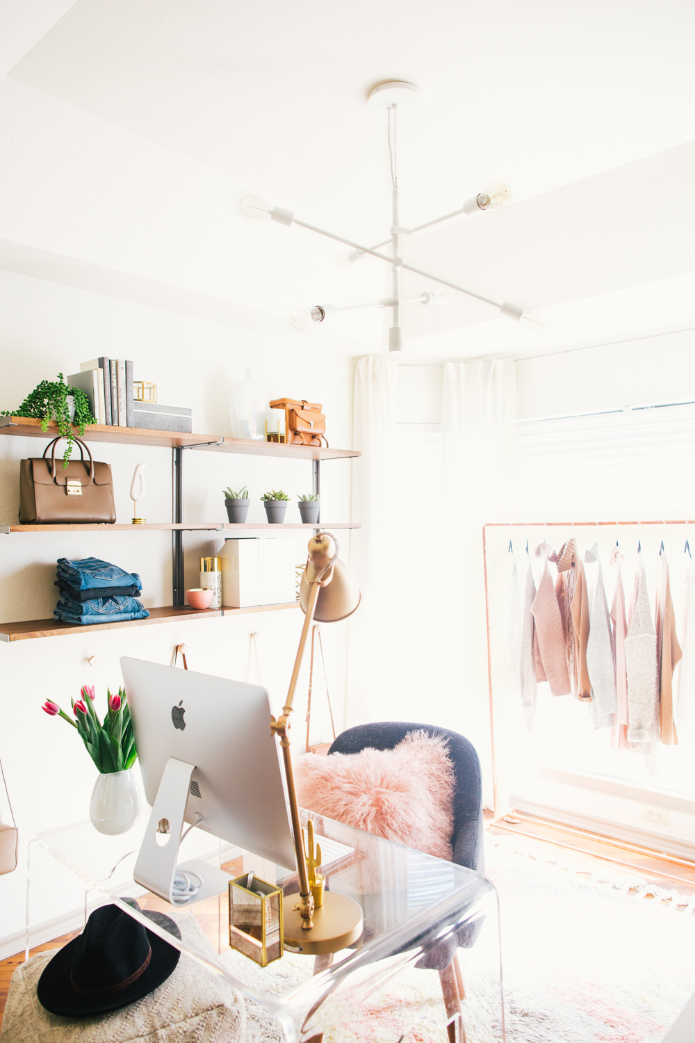 livvyland-blog-olivia-watson-west-elm-home-office-before-after-reveal-pink-grey-cozy-chic-white-airy-girly-austin-texas-fashion-blogger-1
