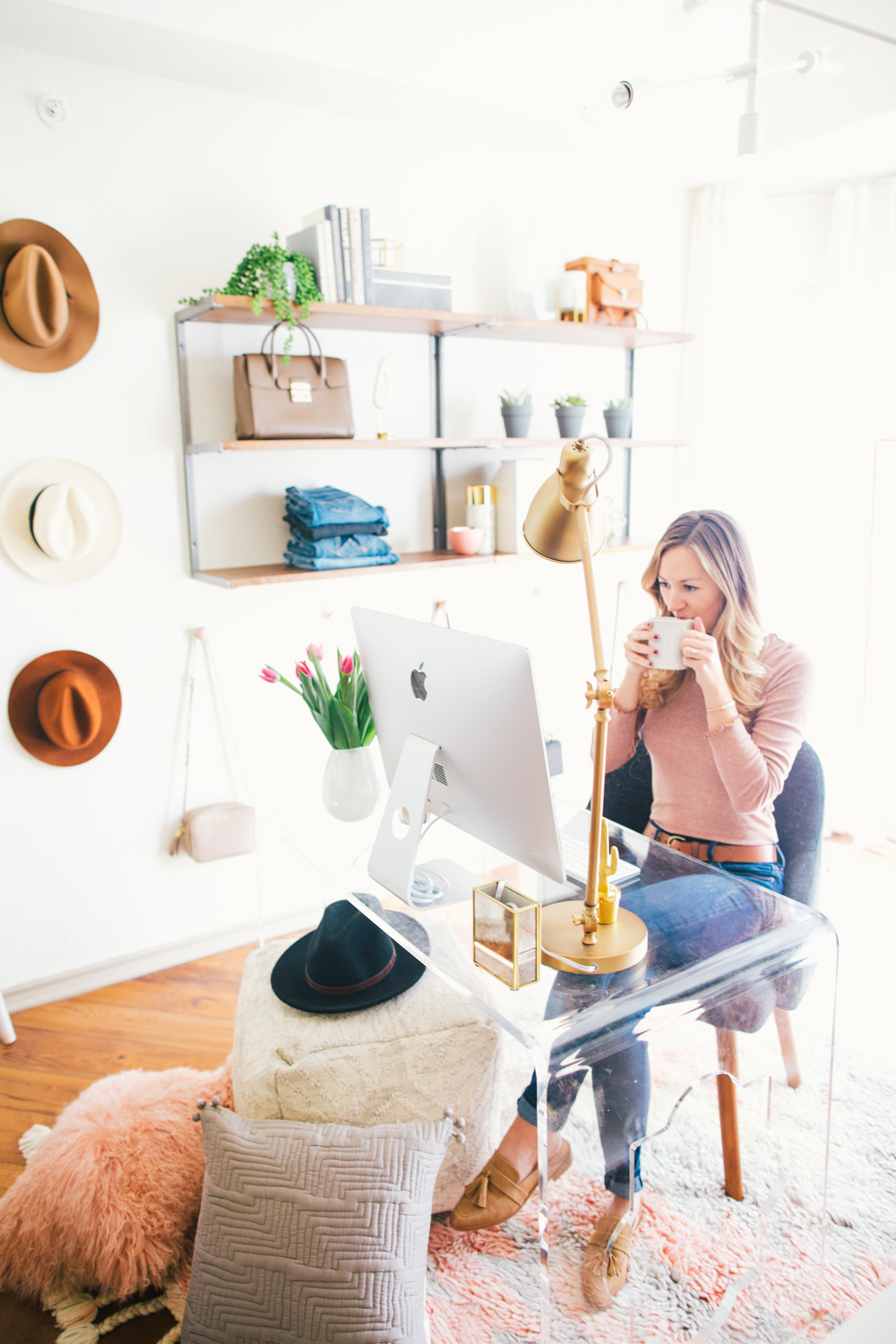 livvyland-blog-olivia-watson-west-elm-home-office-before-after-reveal-pink-grey-cozy-chic-white-airy-girly-austin-texas-fashion-blogger-20