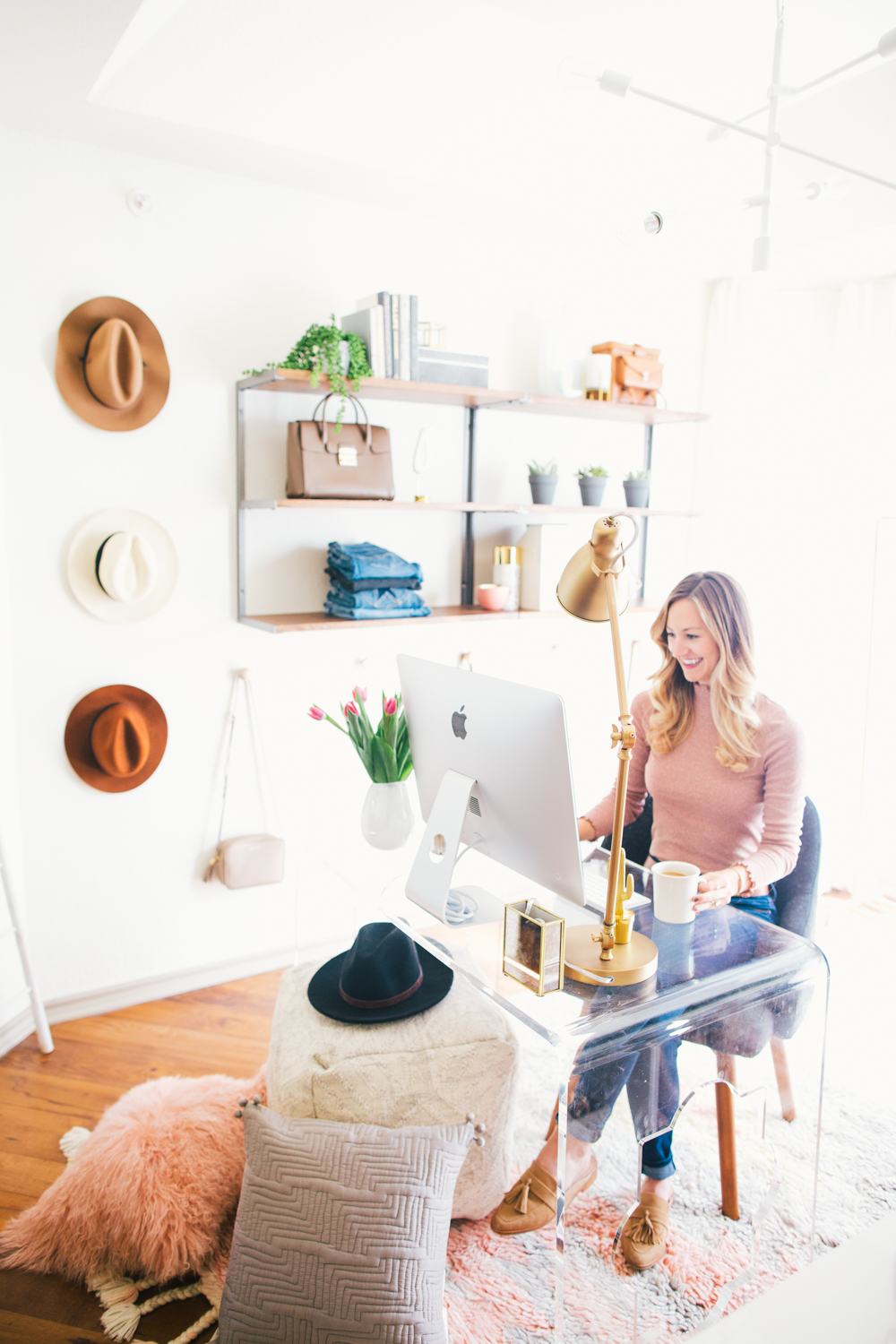 livvyland-blog-olivia-watson-west-elm-home-office-before-after-reveal-pink-grey-cozy-chic-white-airy-girly-austin-texas-fashion-blogger-22