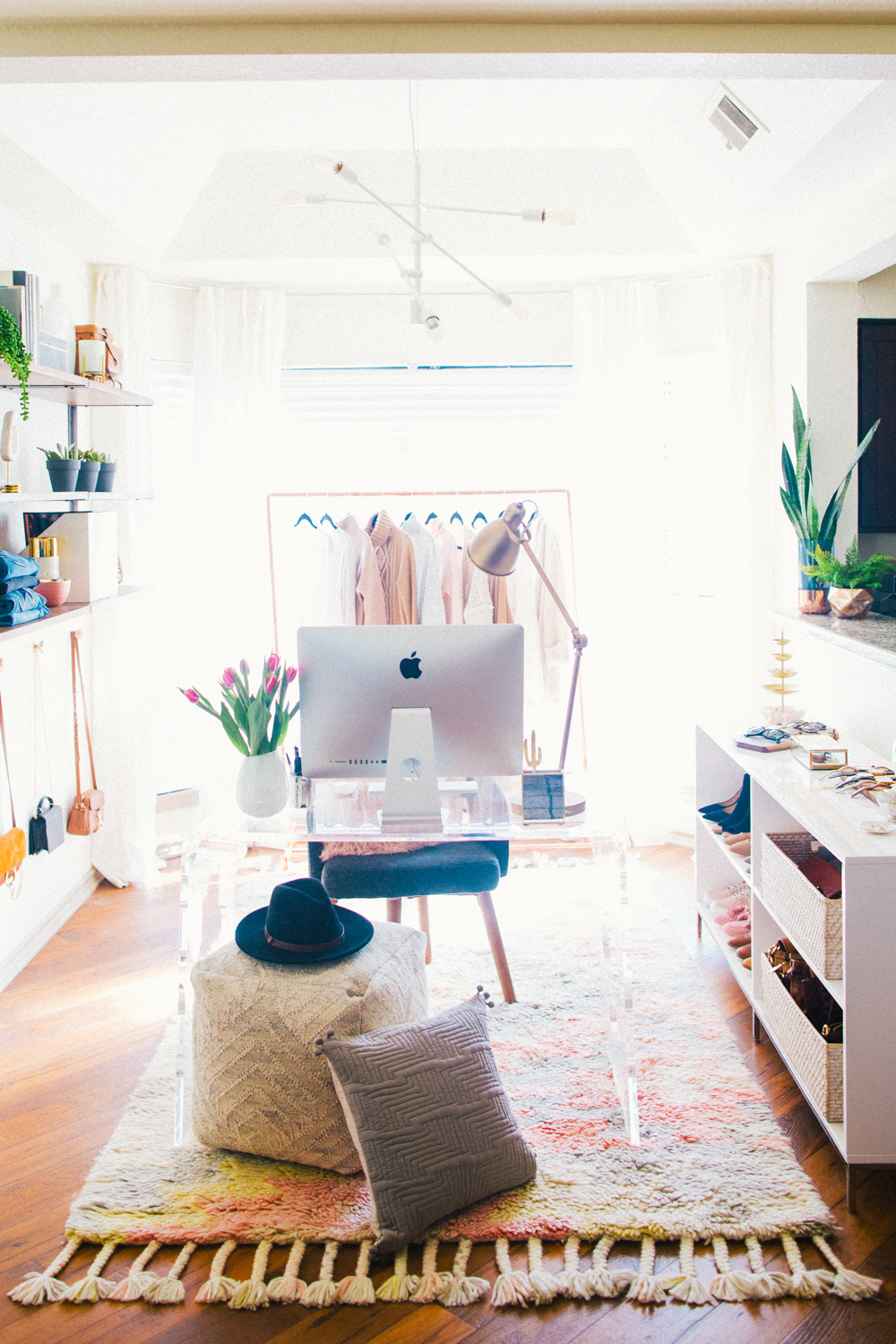 Before after my home office reveal livvyland - What degree do you need to be an interior designer ...